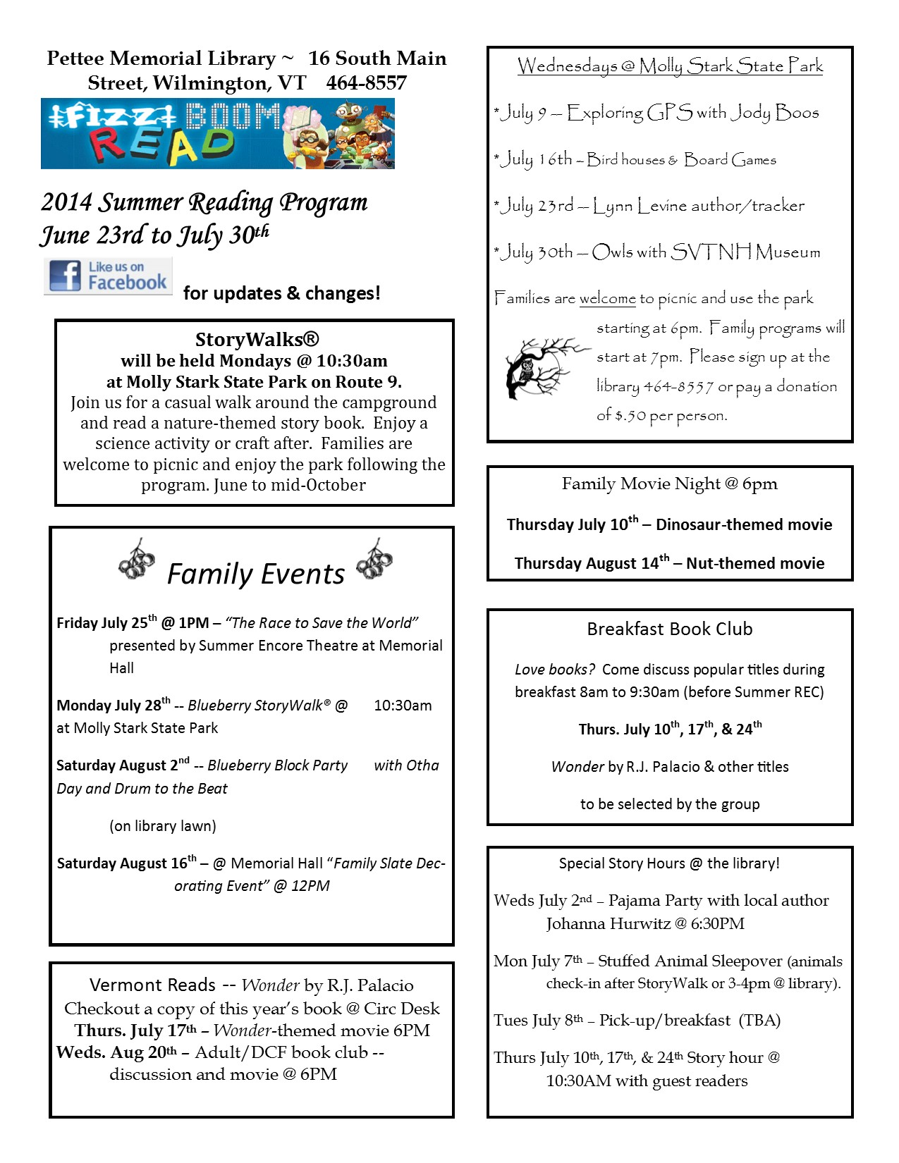 SRP 2014 flyer - online version
