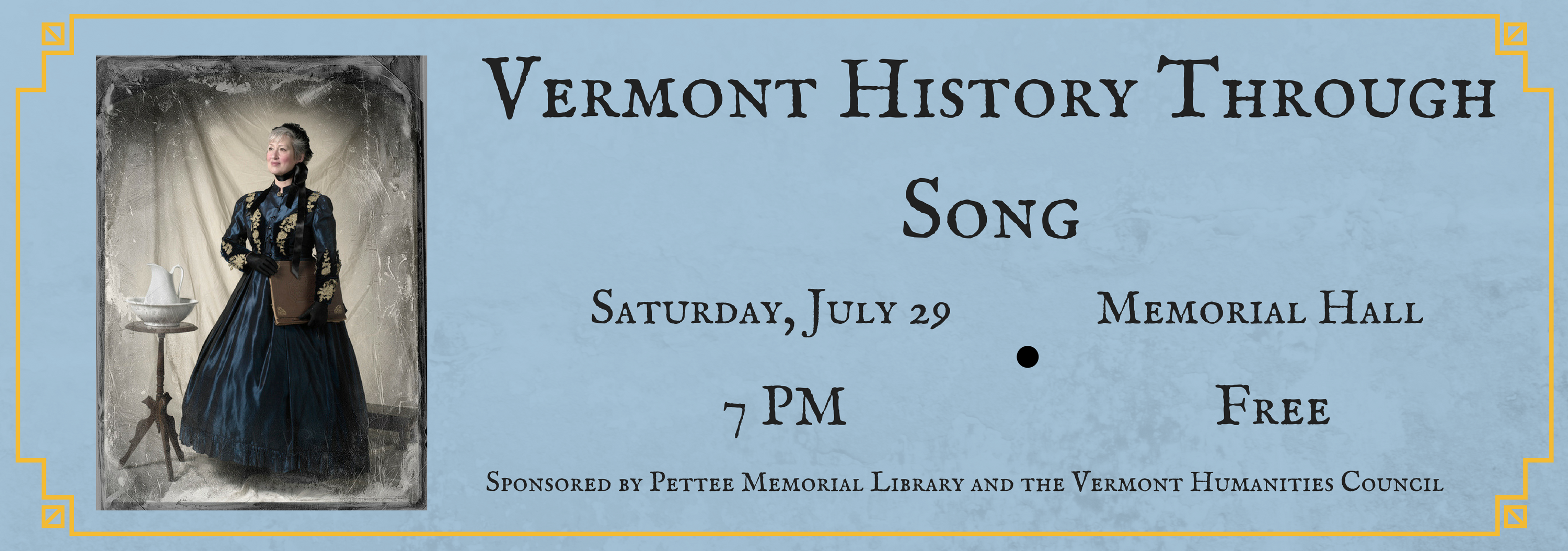 Vermont History Through Song